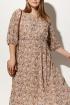 Платье AYZE 1556 мультиколор