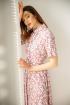 Платье Ivera 1022 розовый, белый