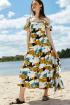 Платье VIZANTI 8094 мультиколор.2