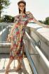 Платье VIZANTI 8128 голубой