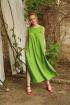Платье MAX 4-007 зелень