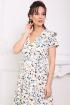 Платье Мода Юрс 2690 молочный_цветы