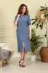 Платье Anastasiya Mak 810 голубой