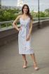 Платье Sisteroom Пл-054 голубой