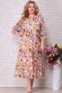 Платье Aira Style 832 розовые_цветы