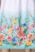 Платье Romanovich Style 1-2171 белый/бирюза