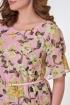 Платье Karina deLux B-428А розовый_принт