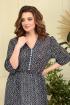 Платье Anastasiya Mak 839 темно-синий