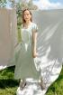 Платье,  Пояс Ivera 1017 салатовый