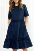Платье AYZE 2083 синий