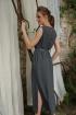 Платье MAX 4-007 графит