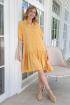Платье Lokka 772 желтый_мимозы