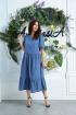 Платье Anastasia 620 т.голубой