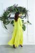 Платье Anastasia 626 лимон