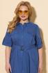 Платье БелЭльСтиль 833-1 голубой