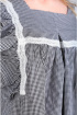 Блуза Таир-Гранд 62390 черно-белый
