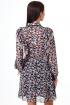 Платье Anelli 1030 черное-розы