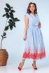 Платье Anastasia 651 голубой