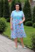 Платье MadameRita 5140 бирюза