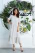 Платье Anastasia 631 молочный