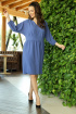 Платье Anastasia 668 синий