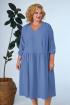 Платье Anastasia 668а синий