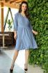 Платье Anastasia 668 голубой