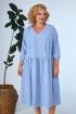 Платье Anastasia 668а голубой