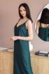 Платье Sisteroom ПлД-054 изумруд-беж