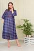 Платье Anastasiya Mak 824 синий