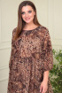 Платье Anastasiya Mak 824 коричневый