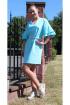 Платье Arisha 1254-1 ментоловый