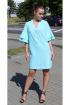 Платье Arisha 1254 ментоловый