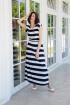 Платье Ivera 1030 белый, синий