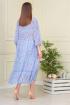 Платье Anastasiya Mak 824 голубой