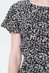 Платье BirizModa 21С0017 черный,желтый