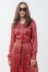 Платье Favorini 31778-Kilay серый