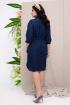 Платье Daloria 1649 темно-синий