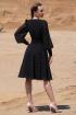 Платье Golden Valley 4708 черно-белый