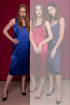 Платье Tanya Arzhanova 0214ТА ярк.синий