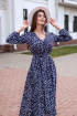Платье KRASA 186-21 синий