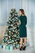 Платье Edibor 2015 зеленый