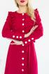 Платье Леди скок 300 красный