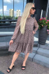 Платье Sisters Solonko Х-45 бежевый