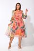 Платье Karina deLux M-9926 розовый_принт