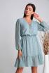 Платье Verita 2110 серо-голубой