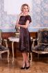 Платье Euromoda 201 кофе
