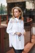 Блуза Edibor 1088 белый