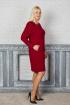 Платье Avila 0677 красный