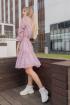 Платье SUNITSA 209 розовый_в_горох